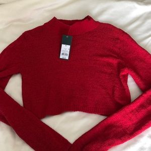 Wild Fable mock turtle neck sweater